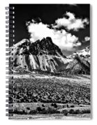 The High Andes Monochrome Spiral Notebook