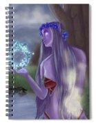 The High Priestess Spiral Notebook