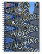 The High Road,abstract Spiral Notebook
