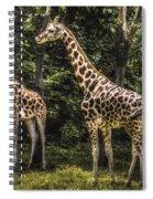 The Higher Ups Spiral Notebook