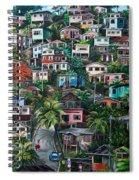The Hill     Trinidad  Spiral Notebook