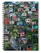 The Hill     Trinidad  Spiral Notebook