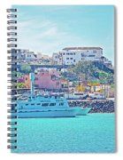 The Hill In Puerto Penasco In Sonora-mexico   Spiral Notebook