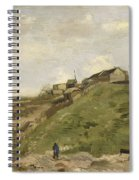 The Hill Of Montmartre With Stone Quarry 2 Spiral Notebook