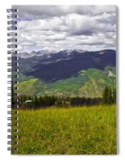 The Hills Are Alive In Vail Spiral Notebook
