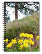 The Hillsides Are Alive Spiral Notebook
