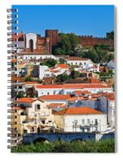 The Historic Town Of Silves In Portugal Spiral Notebook