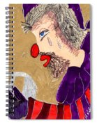 The Hobo Circus Clown Spiral Notebook
