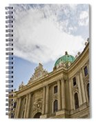 The Hofberg In Vienna Spiral Notebook