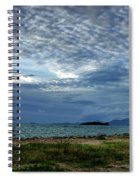 The Hole In The Sky Spiral Notebook