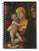 The Holy Family With Saint Mary Magdalen 1500 Spiral Notebook