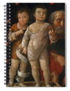 The Holy Family With St John Spiral Notebook