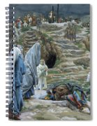 The Holy Women Stand Far Off Beholding What Is Done Spiral Notebook
