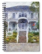 The Homes Of Mackinac Island Michigan 04 Pa Spiral Notebook