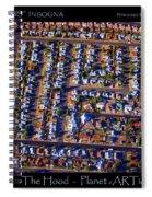 The Hood - Planet Art Spiral Notebook