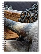 The Horn Of The Beast Spiral Notebook