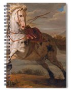 The Horse And The Snake Spiral Notebook
