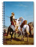 The Horse Of Submission Spiral Notebook