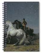 The Horse Thieves Spiral Notebook