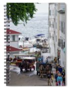 The Horses Of Mackinac Island Michigan Vertical 02 Spiral Notebook