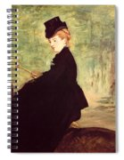 The Horsewoman Spiral Notebook