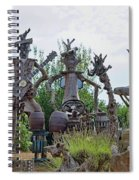 The House Band, Brittany, France Spiral Notebook