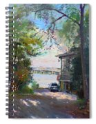 The House By The River Spiral Notebook