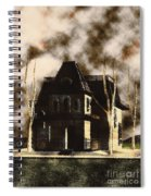 The House From Psycho Spiral Notebook