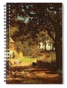 The House In The Woods Spiral Notebook