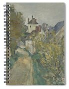 The House Of Dr Gachet In Auvers Sur Oise Spiral Notebook