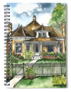 The House On Spring Lane Spiral Notebook