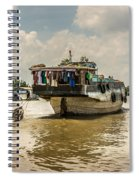 The Houseboat Spiral Notebook