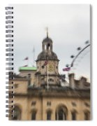 The Household Cavalry Museum London Abstract 2 Spiral Notebook