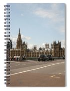 The Houses Of Parliament. Spiral Notebook