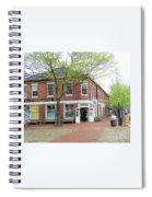 The Hub Corner Spiral Notebook