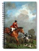 The Hunt Spiral Notebook