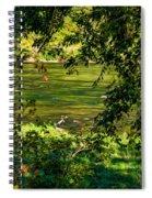 The Hunter - Paint Spiral Notebook