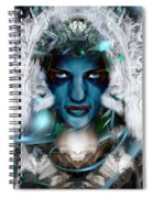 The Ice Queen  Spiral Notebook
