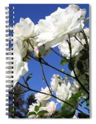 The Iceberg Rose Spiral Notebook