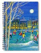 The Iceskaters Spiral Notebook