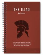 The Iliad By Homer Greatest Books Ever Series 011 Spiral Notebook