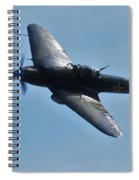 The Ilyushin Il-2 In Flight Spiral Notebook