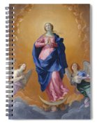 The Immaculate Conceptio Spiral Notebook