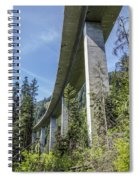 The Imperial Highway On The Forest Moon Of Endor Spiral Notebook