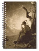 The Indian Widow Spiral Notebook