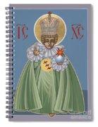 The Infant Of Prague 184 Spiral Notebook