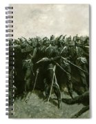 The Infantry Square Spiral Notebook