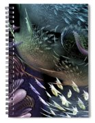 The Intricacy Of Existence Spiral Notebook