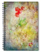 The Introverted Tulip Spiral Notebook