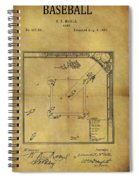 The Invention Of Baseball Spiral Notebook